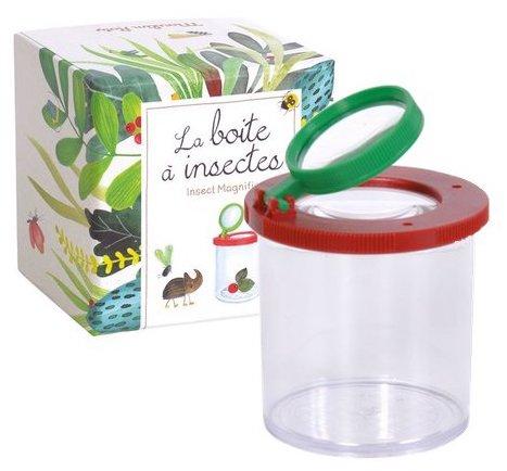 Boite pour observer les insectes pour les enfants