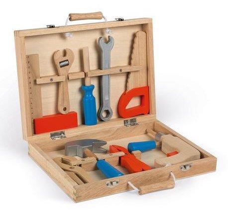 Boite à outils pour bricoler pour enfant