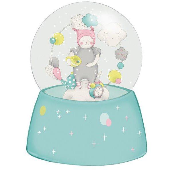 Boule à neige musicale Les Petits dodos - Moulin Roty