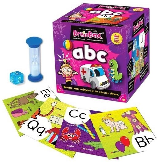 Jeu pour apprendre les lettres de l'alphabet
