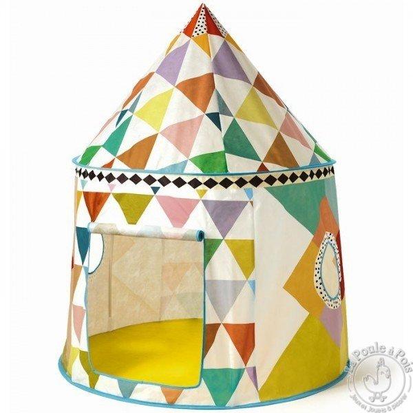 Cabane multicolore de Djeco