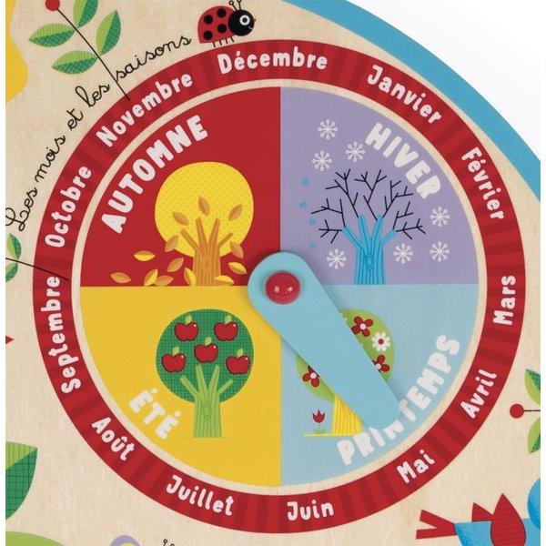 Calendrier Tissu Educatif.Jeux Sur Le Theme Des Saisons Et De La Meteo