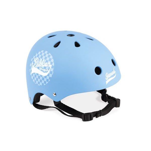 casque bleu pour draisienne janod