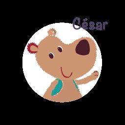 personnage César de lilliputiens
