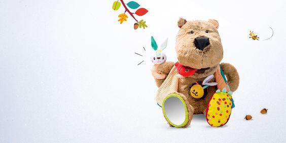 César l'ours Lilliputiens