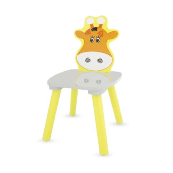 chaise en bois girafe de la marque Ulysse