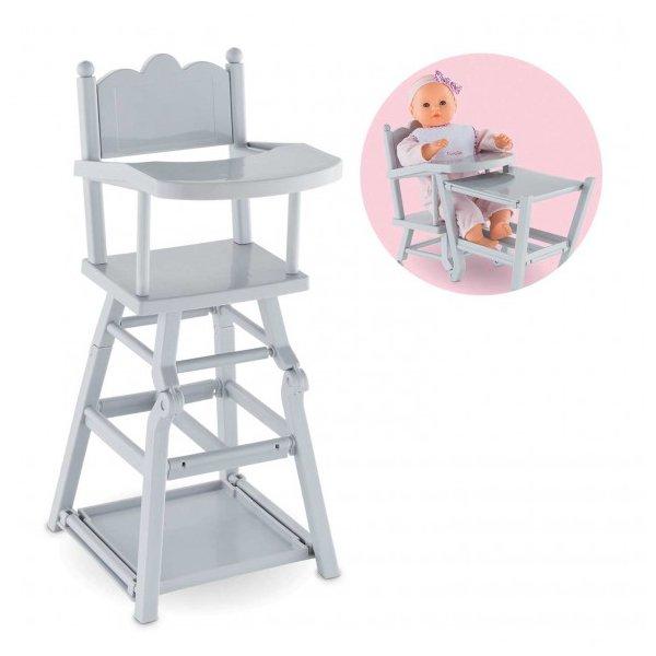 Chaise haute pour les poupées