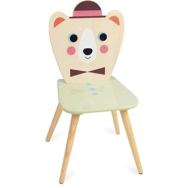 chaise ours chapeau vilac