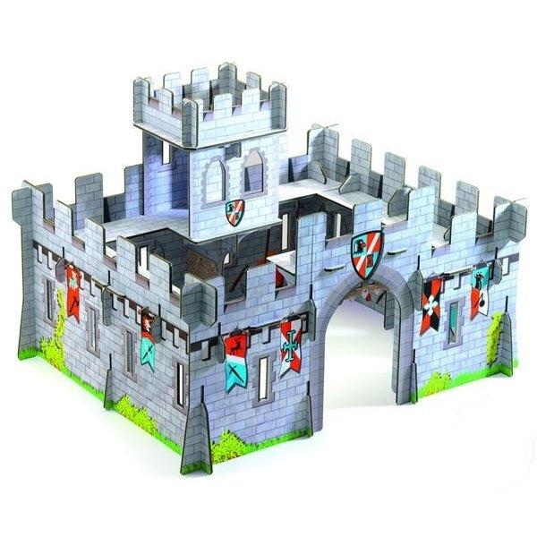 chateau medieval poptoplay de Djeco