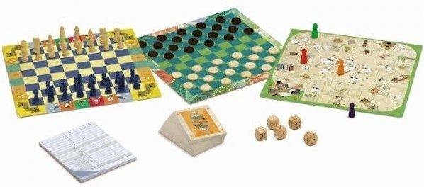 Coffret de jeux classiques pour les enfants