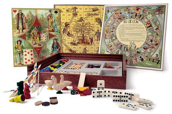 Coffret de jeux tradition Jeujura