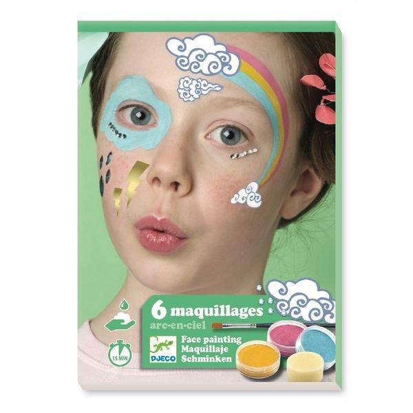 coffret maquillage arc en ciel djeco