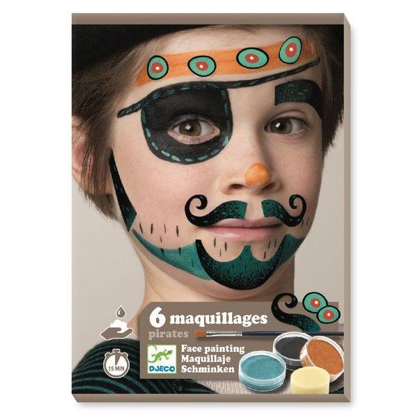 coffret maquillage pirate djeco