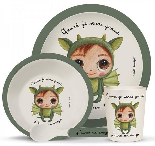 Vaisselle biodégradable pour les enfants