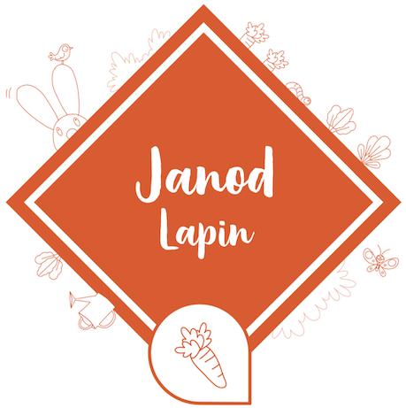 Jouets d'éveil de la collection Lapin de Janod