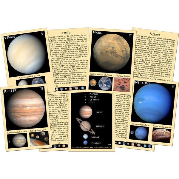 Jeu pour apprendre les planètes