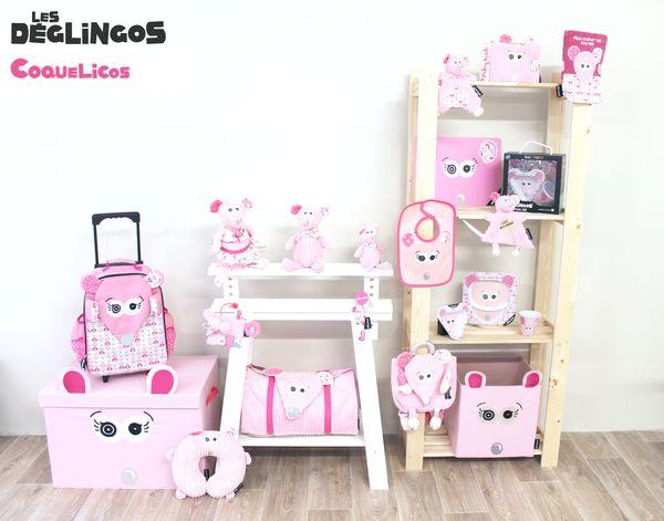 Collection Coquelicos la souris Les Déglingos