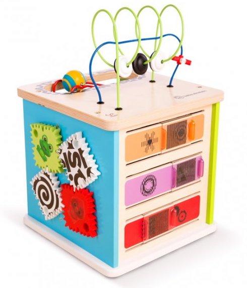 Cube d'activités Innovation de la collection Baby Einstein de Hape