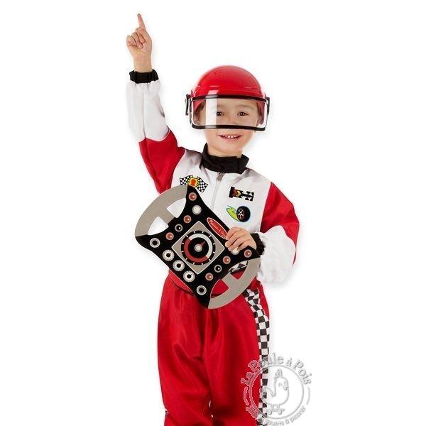 déguisement pilote de course