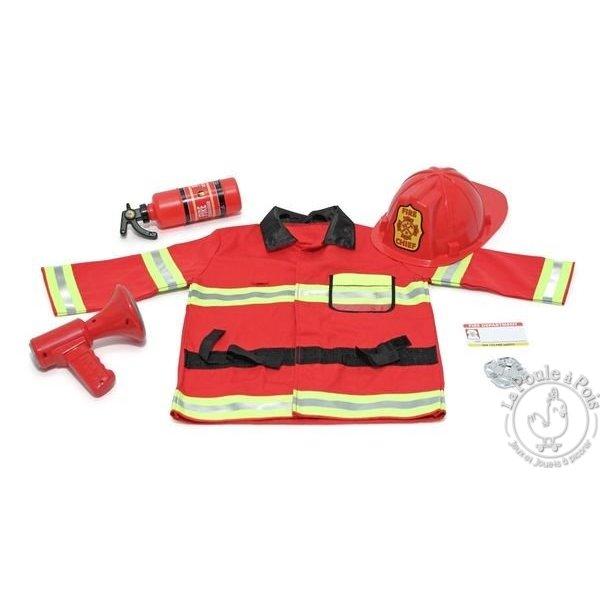 déguisement de pompier melissa&doug