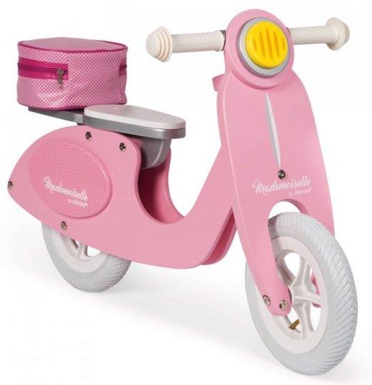 Draisienne Scooter rose pour les filles
