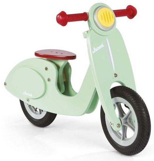 Draisienne Scooter vert pour enfant