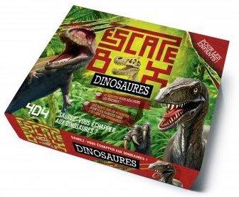 Jeu Escape game pour enfant dinosaures
