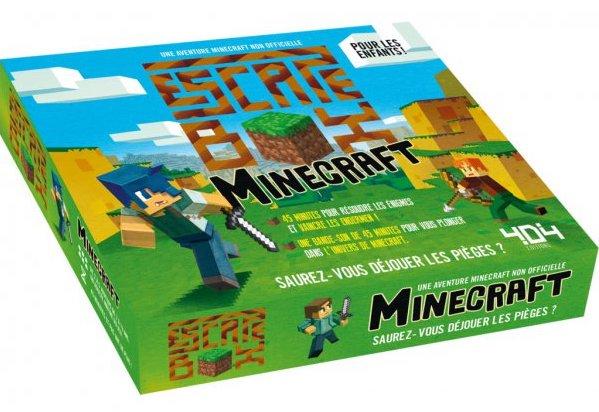 Jeu escape game pour enfant Minecraft