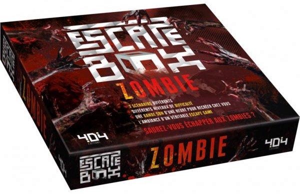 Jeu de société Escape Game pour adultes Zombie