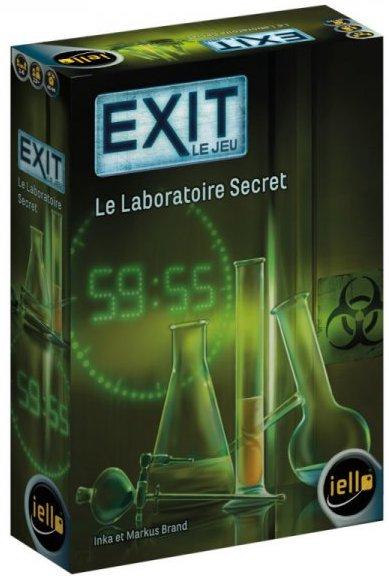 Escape game en jeux de société Exit de Iello