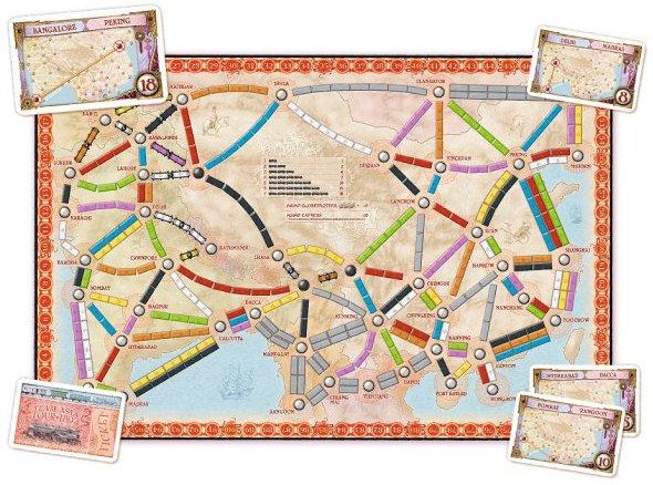 Extension Les Aventuriers du Rail Asie