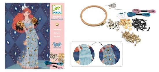 atelier broderie fashion cocktail djeco