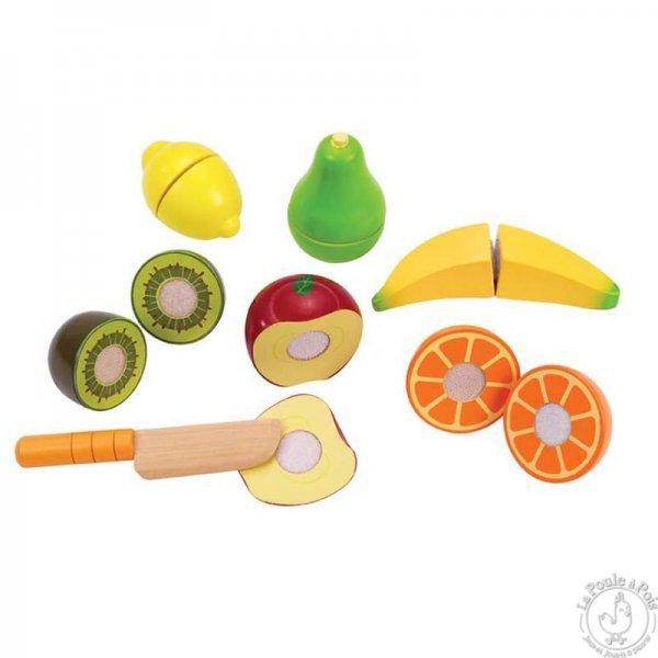 Fruit à découper pour enfant jouer marchande