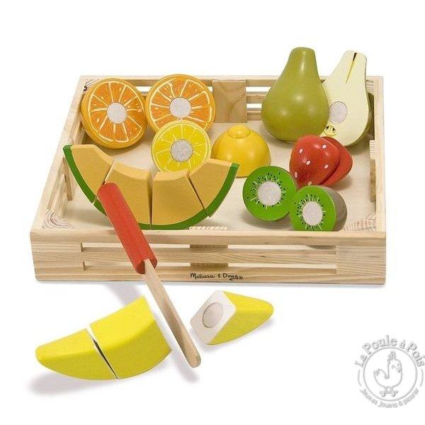 Fruit à découper pour enfant jouer dinette