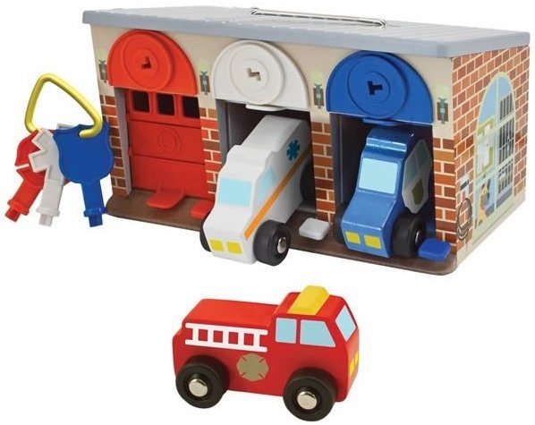 Garage à verrouiller pour les enfants