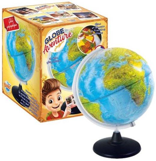Globe terrestre pour apprendre la géographie