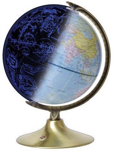 Globe céleste et globe terrestre pour découvrir le monde