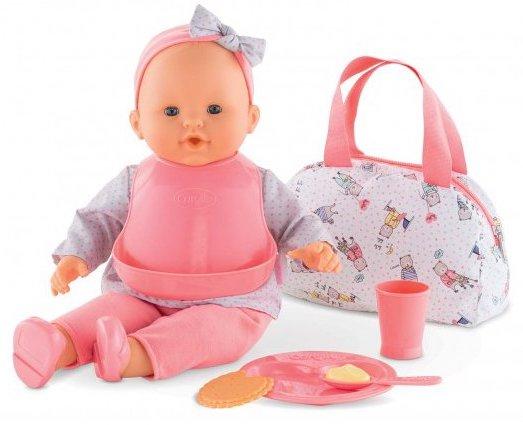 Grand coffret repas pour jouer à la poupée