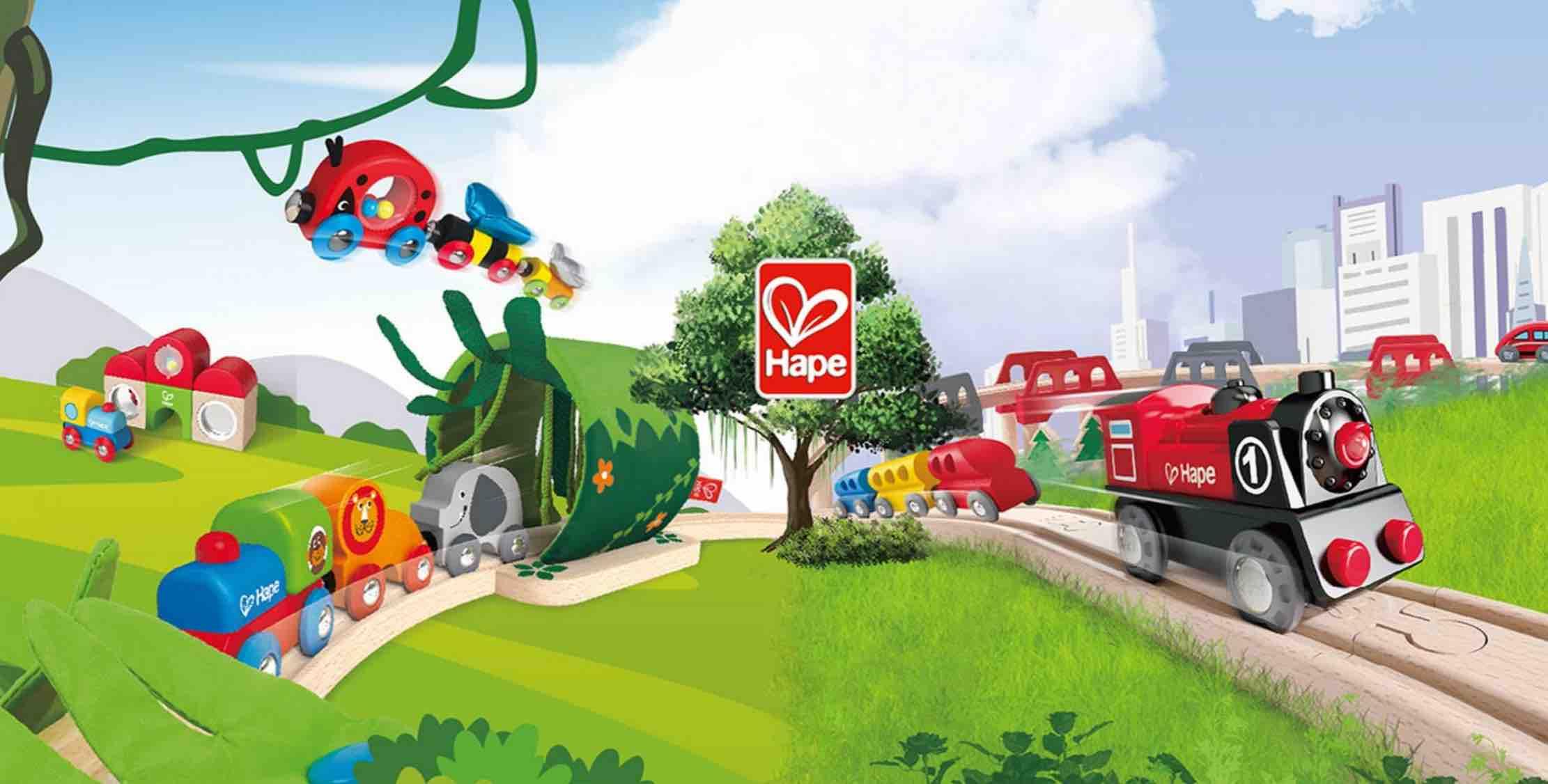 hape trains