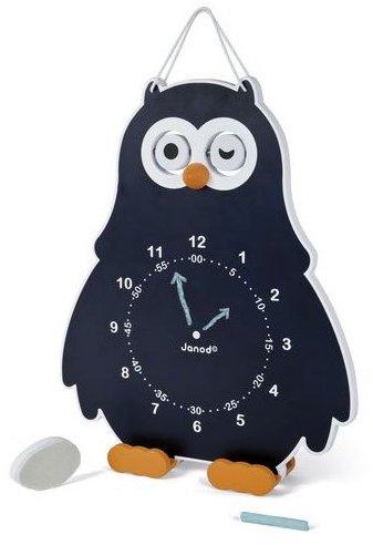 Horloge chouette Janod