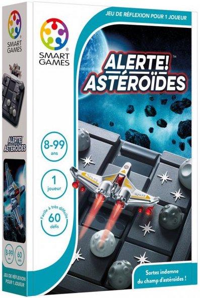 Jeu sur le thème des astéroïdes et des vaisseaux
