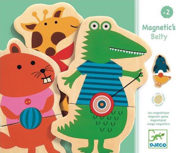 Jeu magnétique avec des animaux pour les enfants