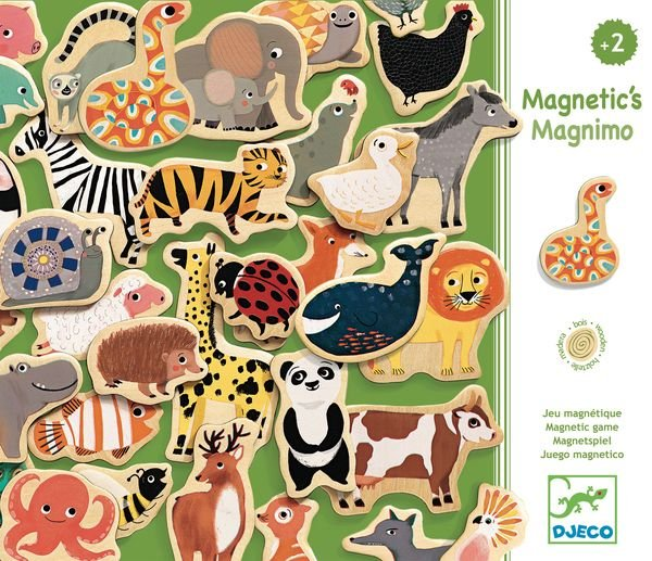 Magnets en bois de Djeco