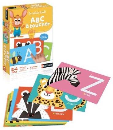 Jeu sensoriel pour apprendre les lettres de l'alphabet