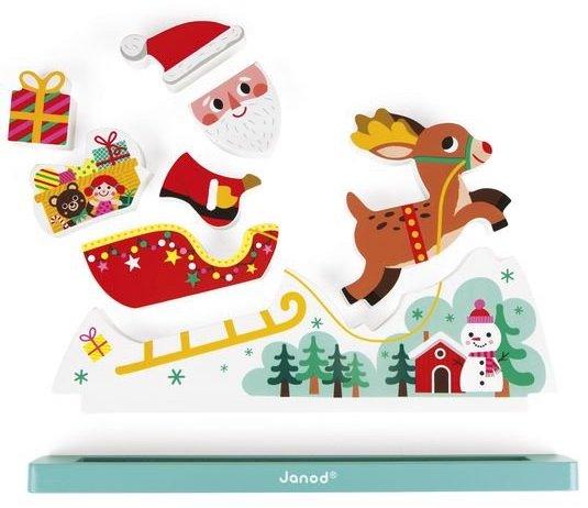 Puzzle sur le thème de Noel pour les enfants