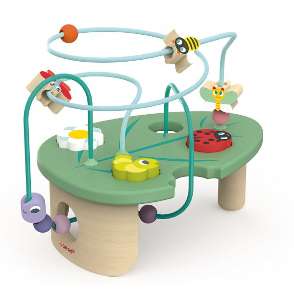 Circuit de motricité en bois pour les bébés