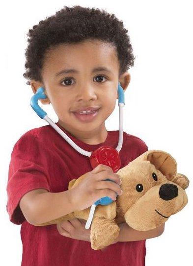 Kit de vétérinaire pour enfant avec animaux