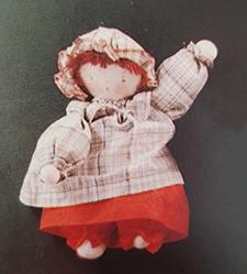 La Douillette, poupée en tissu Moulin Roty