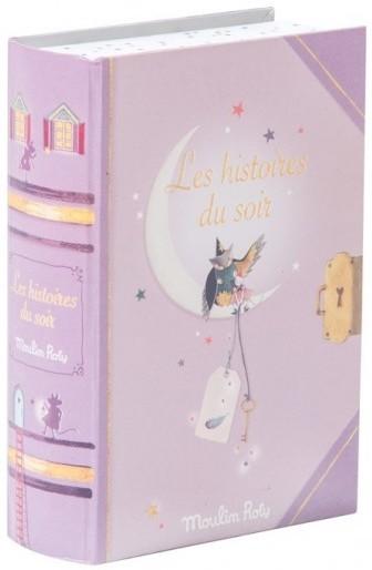 Lampe à histoires Livre Il était une Fois Moulin Roty