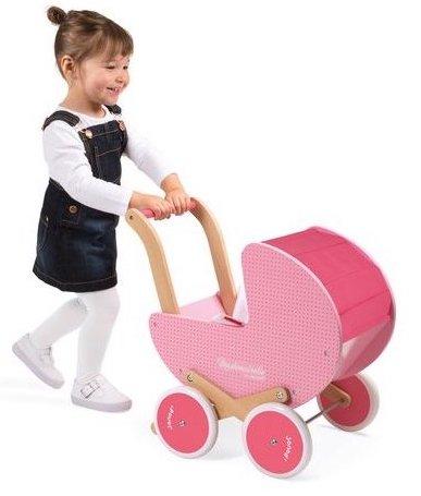 Landau rose pour les enfants pour jouer à la poupée